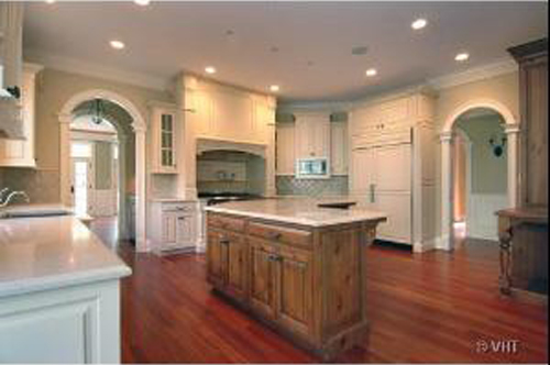 Luxury authentic french country manor house stone cases for Luxury french kitchen
