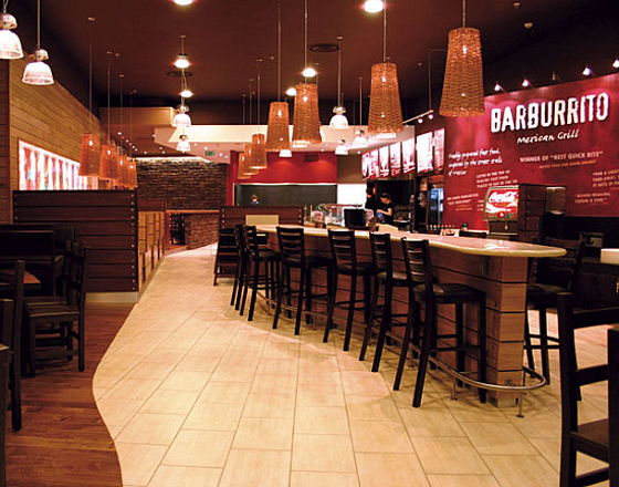 Restaurant Interior Design Fast Food : Modern barbureto restaurant interior design stone cases
