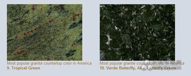 Top 10 Popular Granite Countertop Colors In Usa Stone