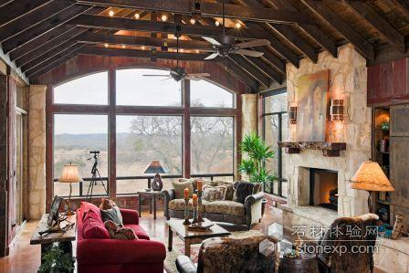Texas Limestone Creates Old Ranch Style Home Stone Cases