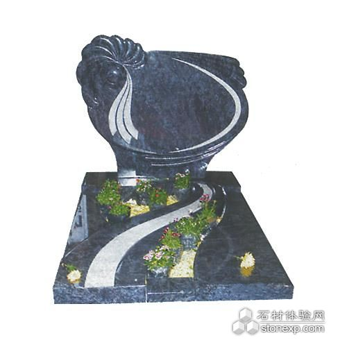 The Gravestone Design of European Style, Nature Stone Application